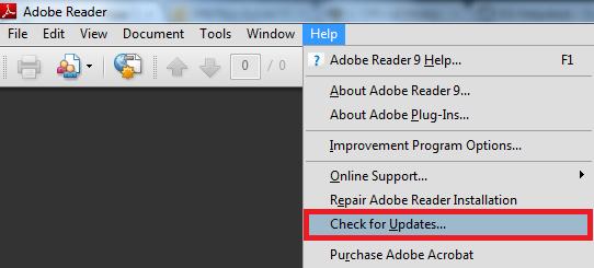 How to Update Adobe Acrobat Reader