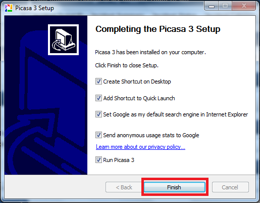 Picasa Description for Windows 10