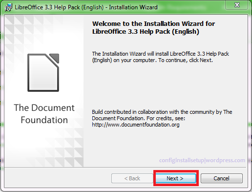 How to Install LibreOffice in Windows 7