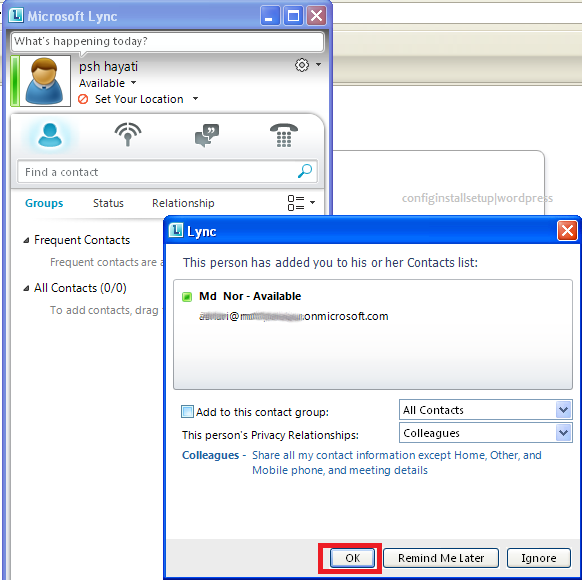 how to use microsoft lync 2010