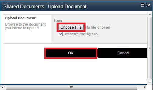 choose document