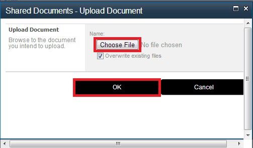 choose document