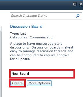 create discussion board3