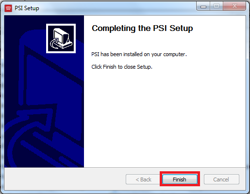 install psi 5