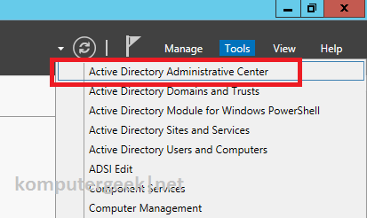 create new user using adac1