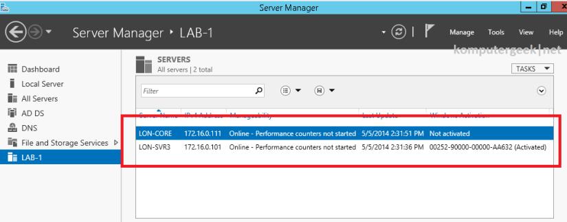 Create a Server Group (56)