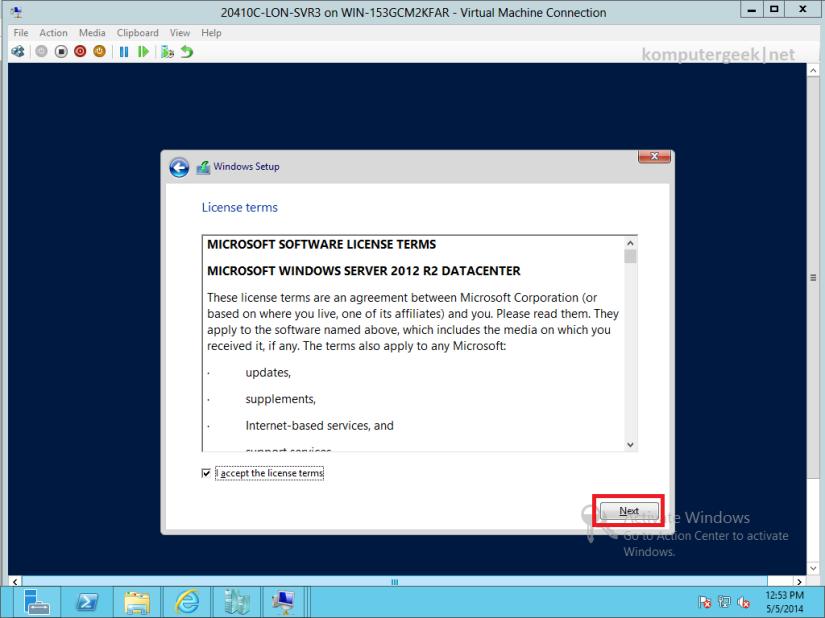 Deploying Windows Server 2012 R2 (10)