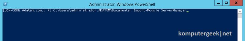 Use Windows PowerShell (73)