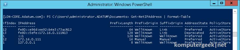 Use Windows PowerShell (78)