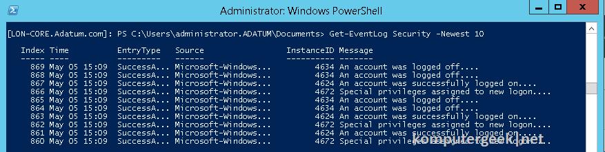 Use Windows PowerShell (79)