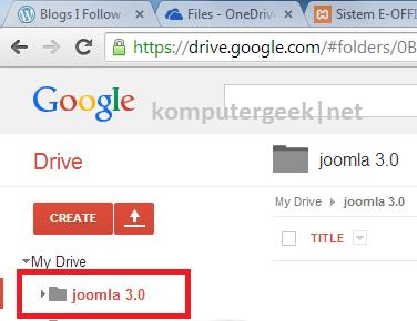 upload drive7