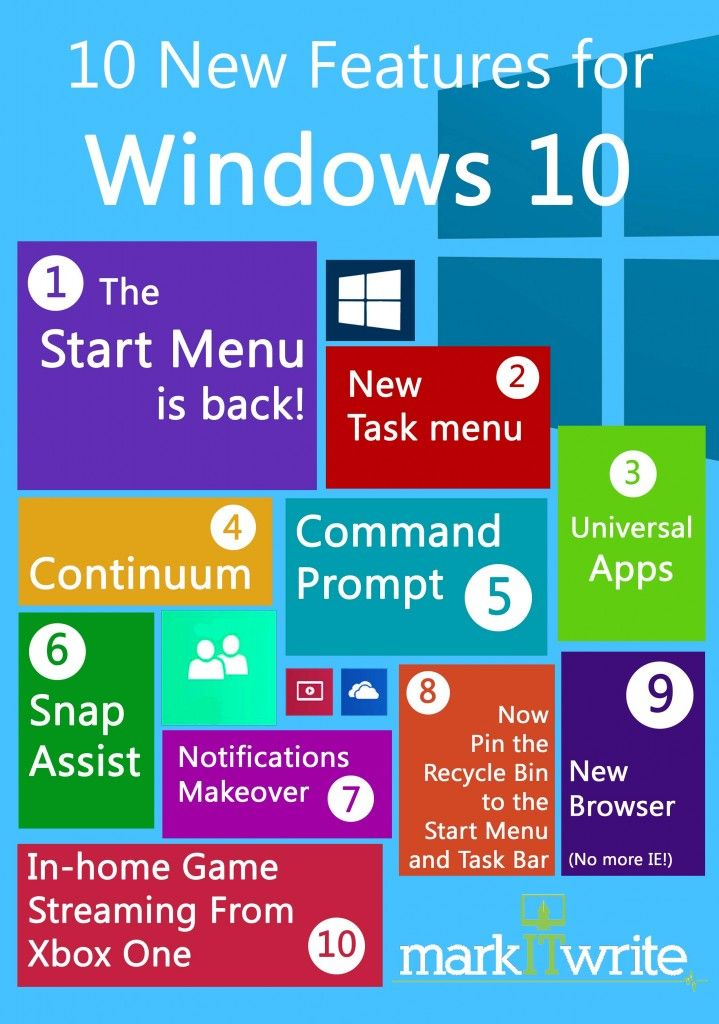 10 new features in windows 10