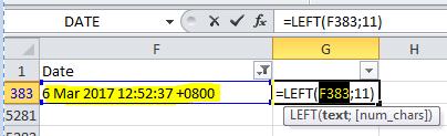 Excel - LEFT2